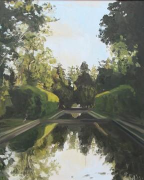 long canals, castle gardens